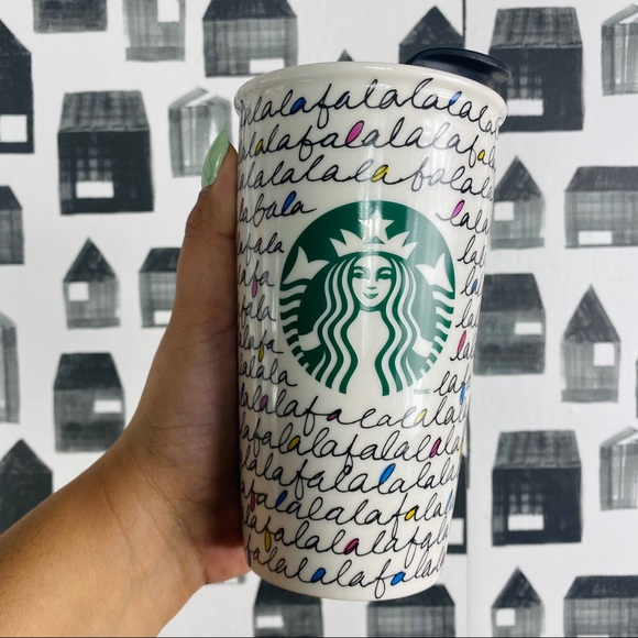 Starbucks | 2011 Holiday Falala Ceramic Tumbler